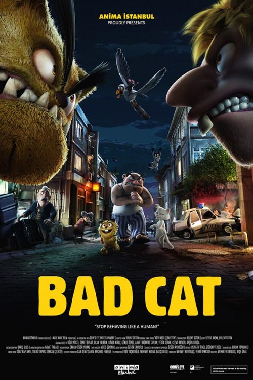 دانلود انیمیشن Bad Cat 2016